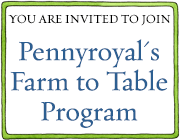 Join Pennyroyal's Farm to Table Program