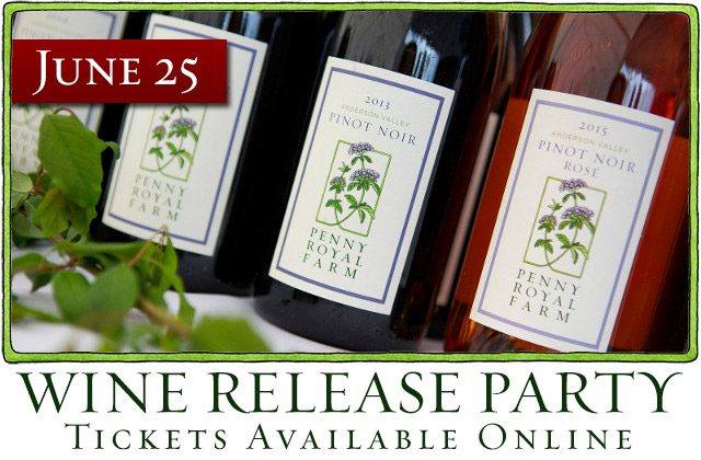 June 25, Wine Release Party, Tickets Available Online